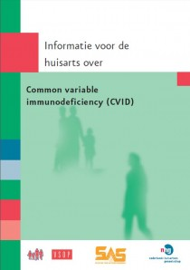 Huisartsenbrochure Common variable immunodeficiency (CVID)